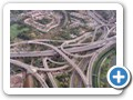 Spaghetti Junction - canal, railway & motorways