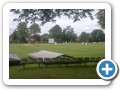 Harborne Cricket Club, home pitch game in progress