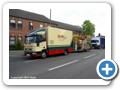 Anthony Harris (Pat Collins) Iveco box truck with towed toy-set